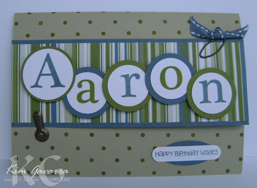 Male birthday card stamp with kim stampin up australia its always a little more challenging to make male cards aaron is the head of stampin up operations here in australia and its his birthday on halloween bookmarktalkfo Images